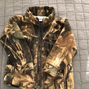 Columbia Camo toddler jacket size 2T